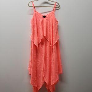 Apt 9 Layered Handkerchief Maxi Dress Size XL NWT